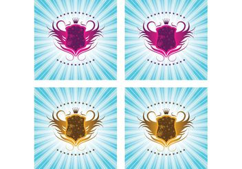 Shield Graphics - vector #160143 gratis