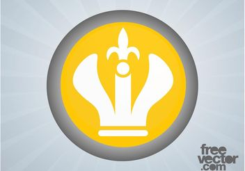 Crown Icon - vector #160253 gratis