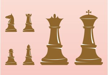 Chess Figures - vector gratuit #160313