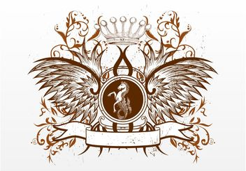 Royal Emblem - Free vector #160463