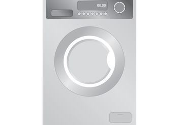 Washing Machine Vector - vector #160943 gratis