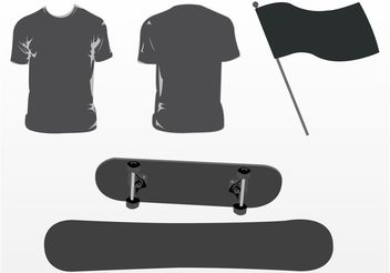 Board Sports - vector gratuit #160973