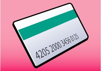 Credit Card Vector - Free vector #160983