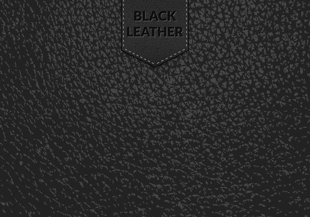 Free Black Leather Vector Background - Free vector #161113