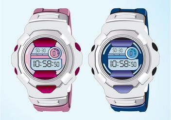 Watches - vector gratuit #161243