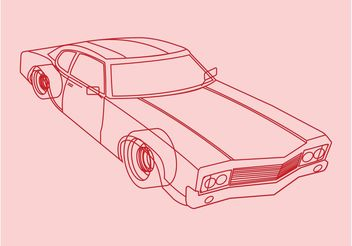 Car Outlines Vector - vector #161283 gratis