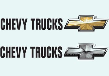 Chevrolet Trucks - Free vector #161313