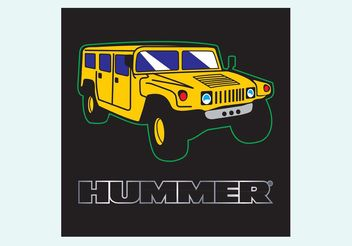 Hummer - Free vector #161543