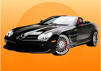 Mercedes Car - vector #161673 gratis