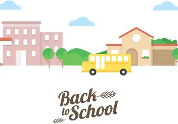 Back To School Vector - vector gratuit #161823