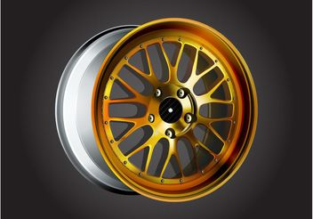 Car Rim Graphics - vector gratuit #161853