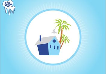 Vector House Icon - Kostenloses vector #161873