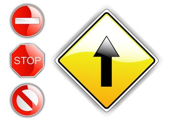 Street Signs - vector #162043 gratis
