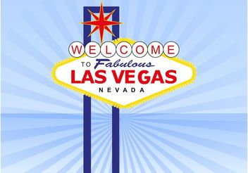 Las Vegas Sign - бесплатный vector #162303