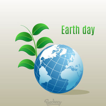 Fresh Environment Earth Day Background - vector gratuit #163303