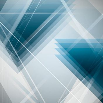 Abstract Overlapping Triangles Background - vector gratuit #163463
