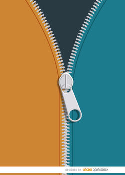 Colorful jacket zipper background - Free vector #163583