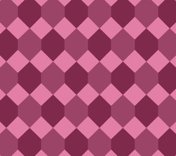 Seamless Diamond Pink Maroon Pattern - vector gratuit #163763