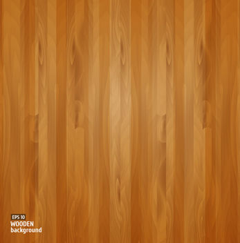 Wooden Board Textured Background - Free vector #165263