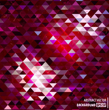 Dark & Light Triangular Polygonal Texture - vector #165443 gratis