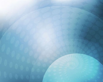 Shiny Vortex Halftone Blue Background - Free vector #165633