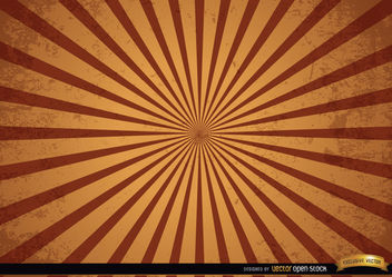 Vintage grunge radial stripes background - Free vector #166003
