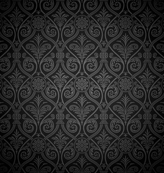 Seamless Ancient Damask Pattern Background - vector #166383 gratis