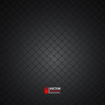 Glossy Embossing Dark Checker Pattern - vector gratuit #166513