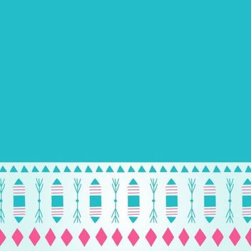Simplistic Abstract Teal Background - vector #166693 gratis
