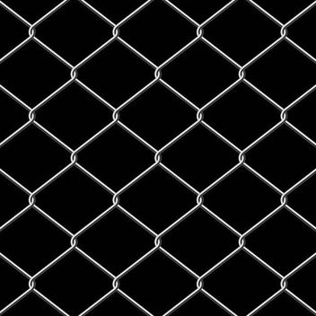 Metallic Wire Linked Fence Background - vector gratuit #166893