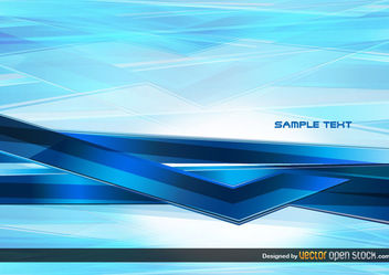 Abstract Technology blue Background - vector gratuit #167573
