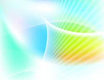 Colorful Background with Twisted Lines - vector #167723 gratis
