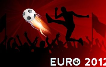 Euro Cup Football Banner - vector #168123 gratis