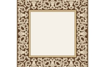 Vintage Ornamental Border Vector - vector gratuit #168253
