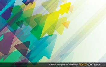Arrows Background - vector #168403 gratis