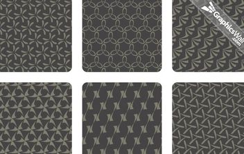 Vector Pattern Set 02 - vector gratuit #168553