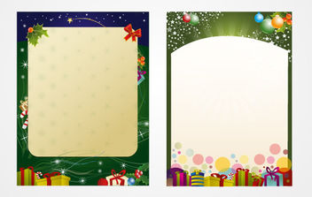 Santa's Letter Template - Free vector #168613
