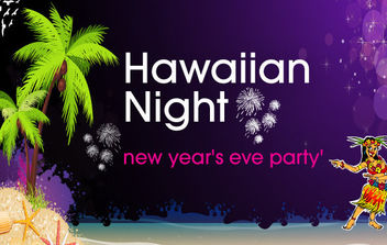 Hawaiian Night - vector gratuit #168653