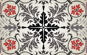 Ornament Pattern - Free vector #168753