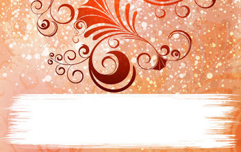 Ornamented Vector Background - Free vector #168793