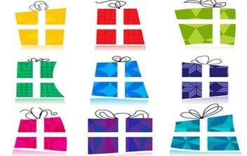 Gift icons - vector #169063 gratis