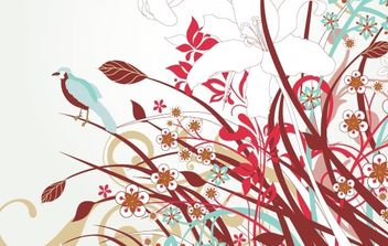 Free Floral Vector Art - Free vector #169103