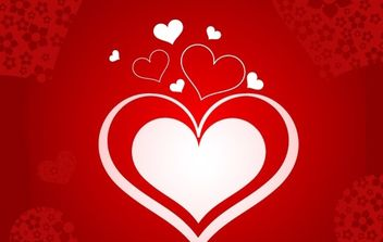 Heart illustration - vector #169313 gratis