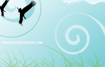 Nature scene - vector #169383 gratis