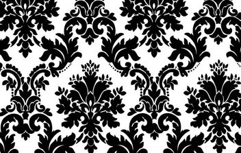 Seamless Floral Background Pattern - vector #169733 gratis