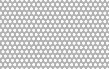Free Seamless Vector Perforated Metal Pattern - бесплатный vector #169763
