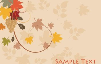 grape vines vector - vector #169993 gratis