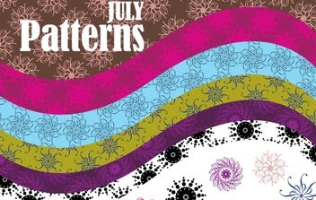 Vector Patterns - vector gratuit #170183