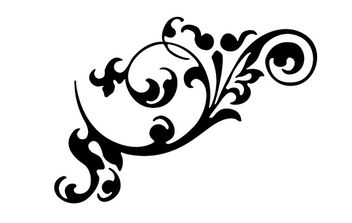 Free Vector Flourish Ornaments - vector #170203 gratis