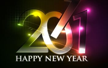 happy new year 2011 eps Vector part04 - Kostenloses vector #171183